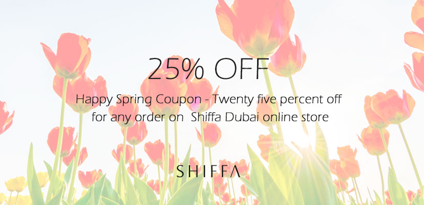 Happy Spring Coupon 25% OFF