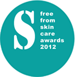 Free from Skin care awards 2012
